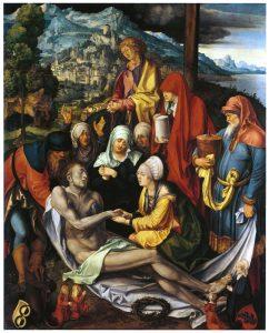 DURER Beweinung Christi, c.1500 152x122, AP