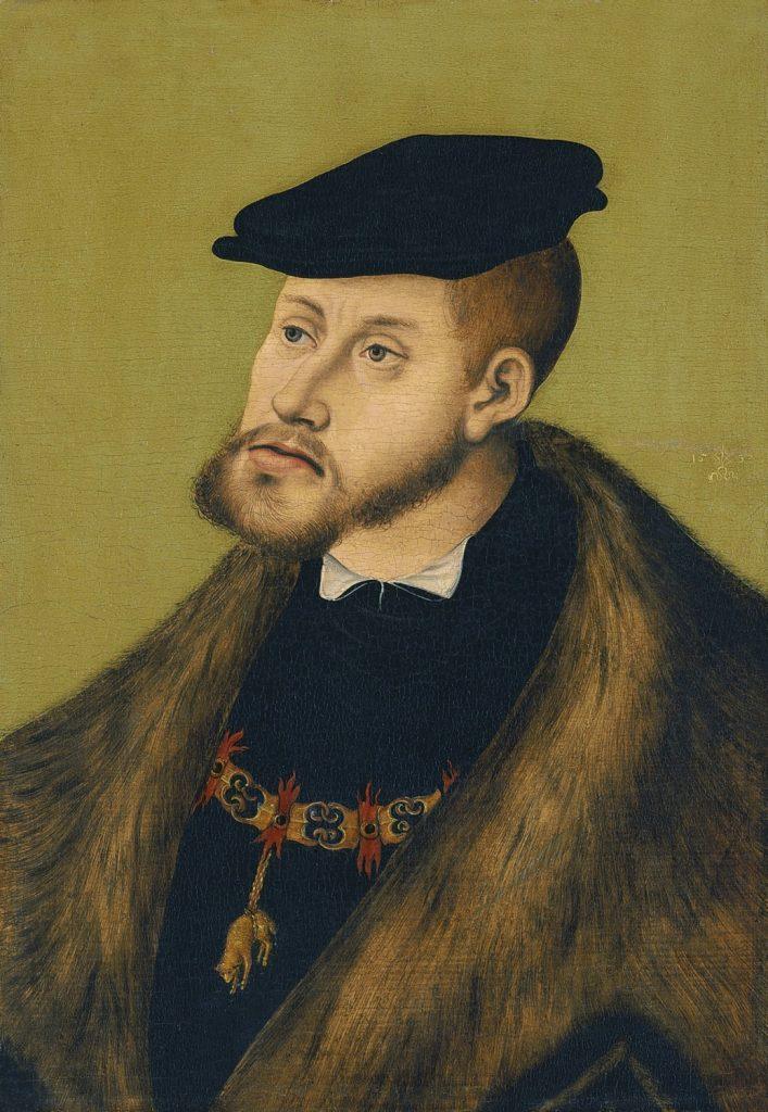 カール5世の肖像