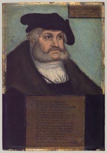 ザクセン選帝侯フリードリヒ賢公の肖像