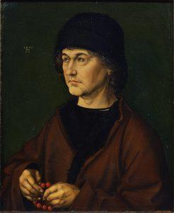 父アルブレヒト・デューラーの肖像