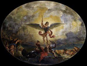 聖ミカエルの悪魔退治