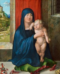 albrecht_du%cc%88rer_-_madonna_and_child_obverse_-_google_art_project