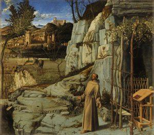 荒野の聖フランチェスコ(聖痕を受ける聖フランチェスコ)