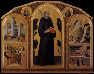 祝福されたアウグスティヌス・ノヴェッロの祭壇画