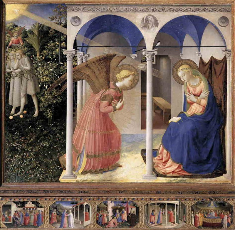 受胎告知(1420年)