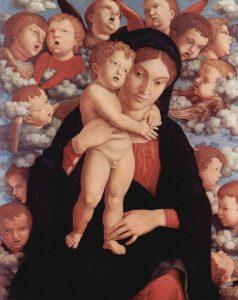 聖母子と智天使たち