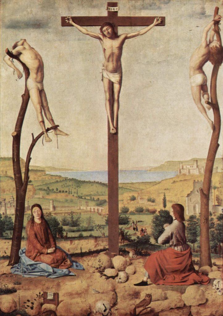 十字架上のキリスト