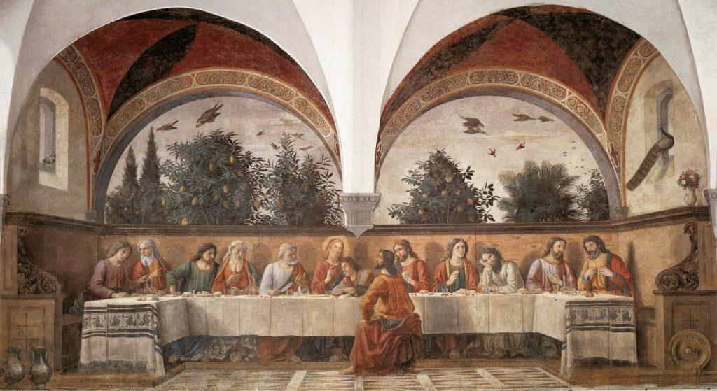 最後の晩餐(オンニッサンティ教会)