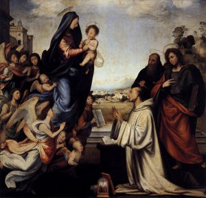 聖ベルナルドの前に現れた聖母マリア
