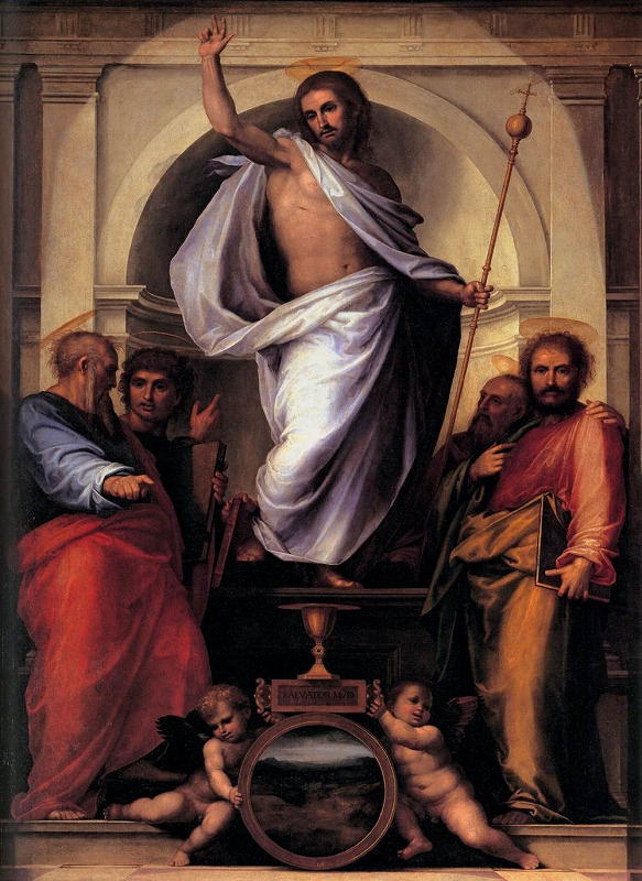 救世主と四人の福音者