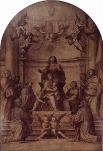 大会議場の祭壇画
