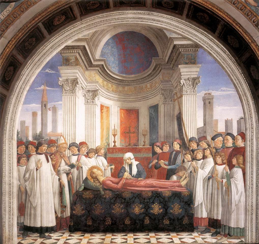聖女フィーナの葬儀