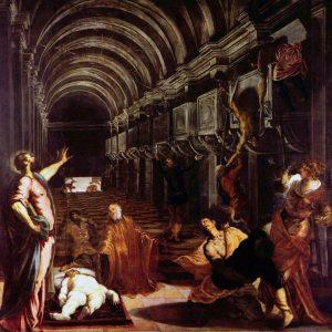 聖マルコの遺体の発見