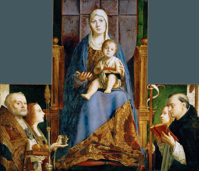 サン・カッシアーノの祭壇画