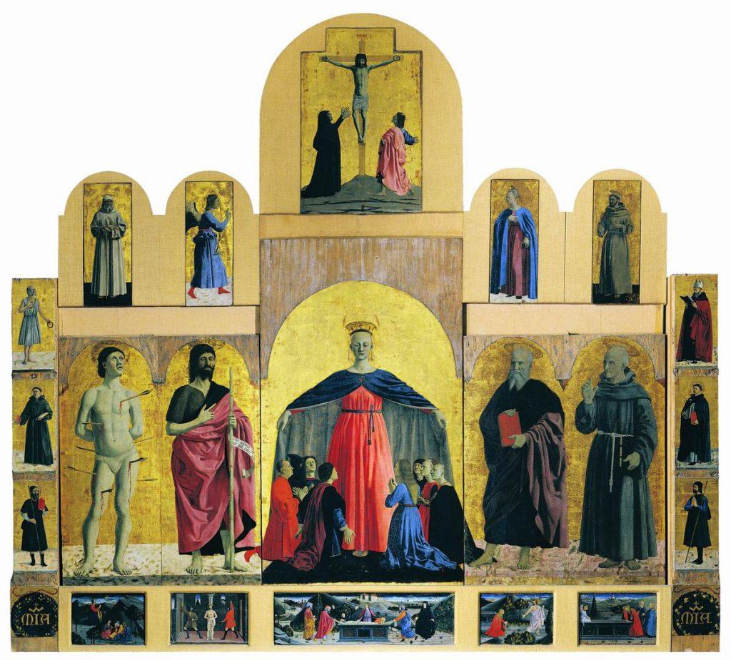 ミゼリコルディアの多翼祭壇画