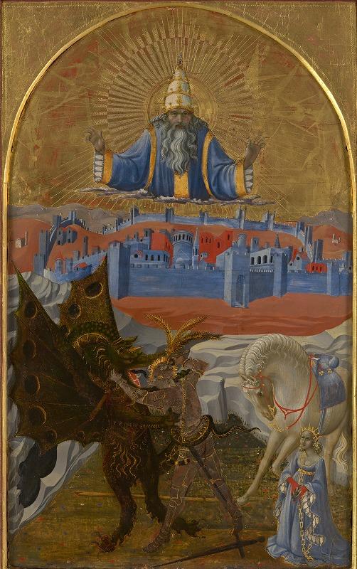 聖ゲオルギオスとドラゴン(1425年)