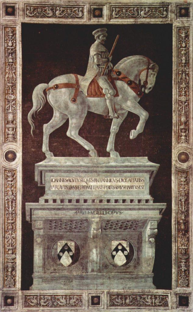 ジョヴァンニ・アクート騎馬像