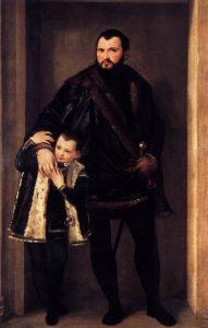 イゼッポ・ダ・ポルトと息子のアドリアーノ