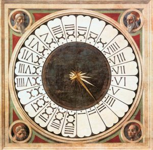 サンタ・マリア・デル・フィオーレ大聖堂の時計