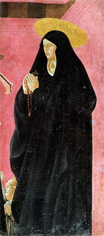 修道女と二人の少女