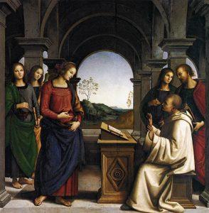 聖ベルナルドゥスの幻視