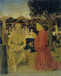 聖ヒエロニムスと寄贈者