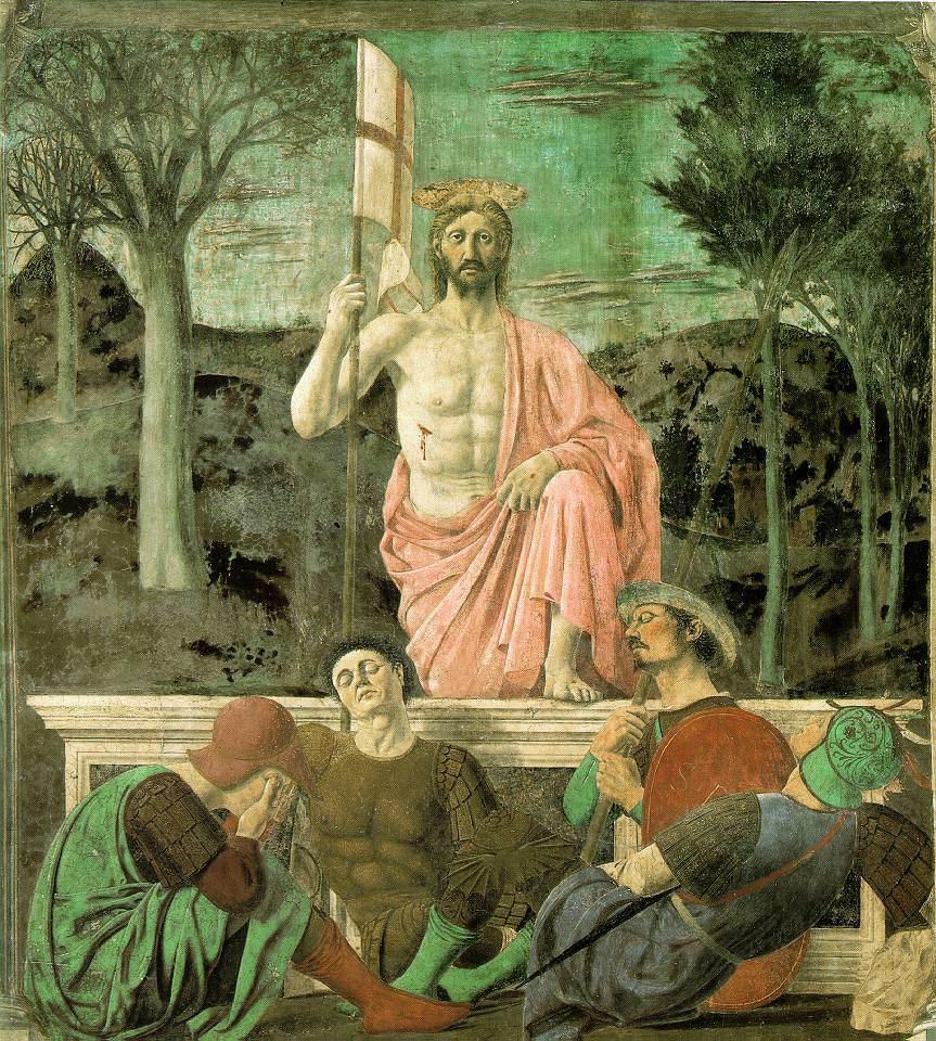 キリストの復活 ピエロ・デッラ・フランチェスカ