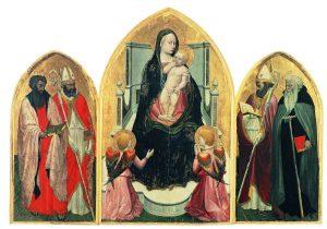 サン・ジョヴェナーレ三連祭壇画