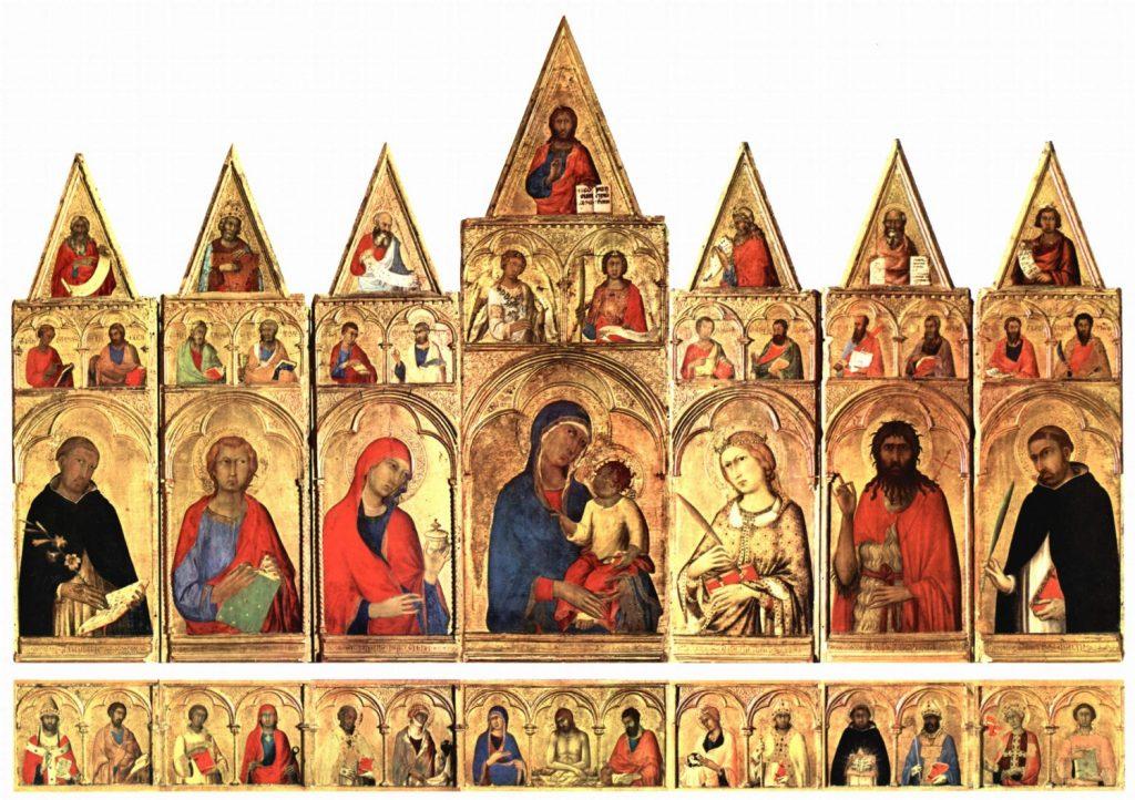 アレクサンドリアの聖カタリナの多翼祭壇画