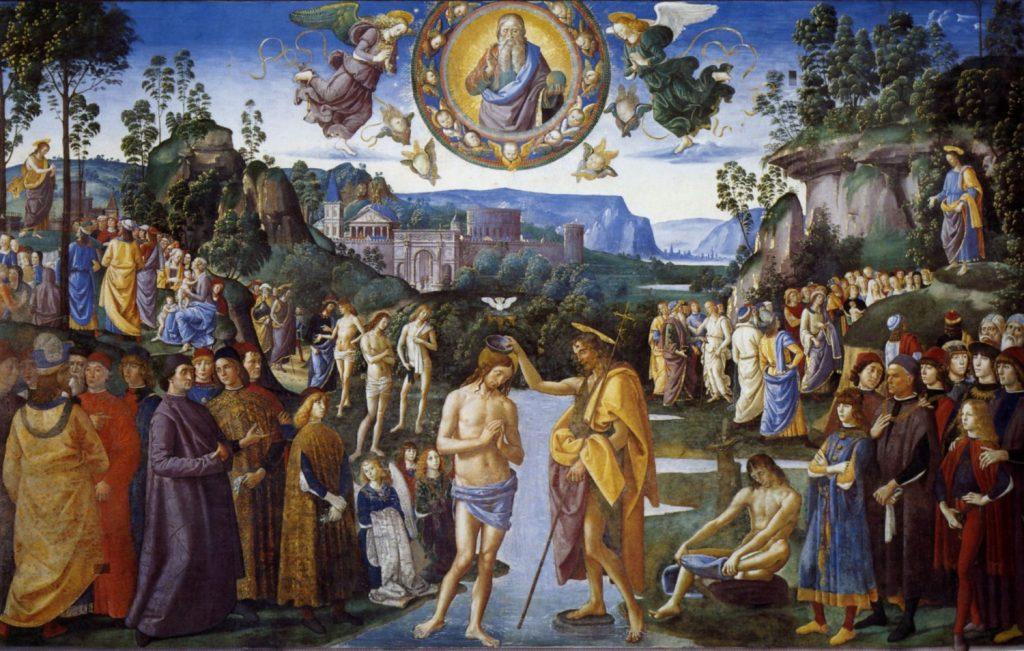 キリストの洗礼》ペルジーノ|MU...