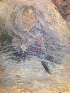 死の床のカミーユ・モネ