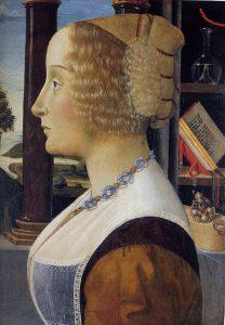 女性の肖像(ハンティントン・ライブラリー)