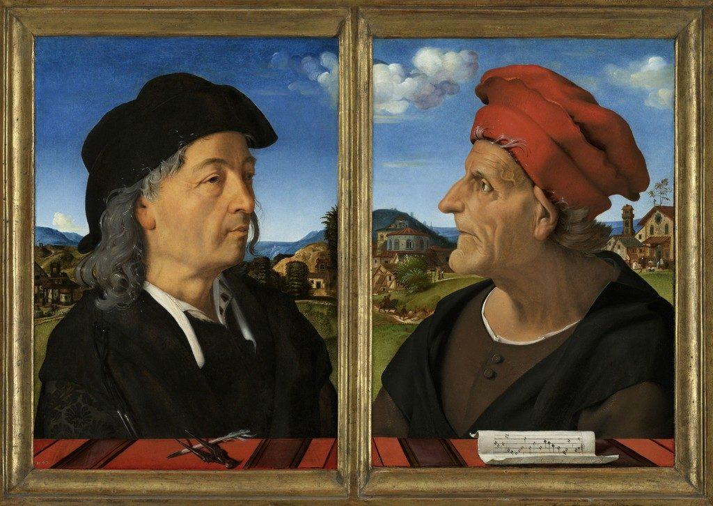 ジュリアーノとフランチェスコ・ジャンベルティ・ダ・サンガッロの肖像
