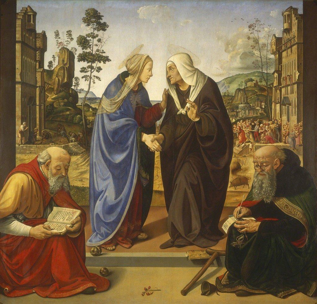 聖母のエリサベツ訪問