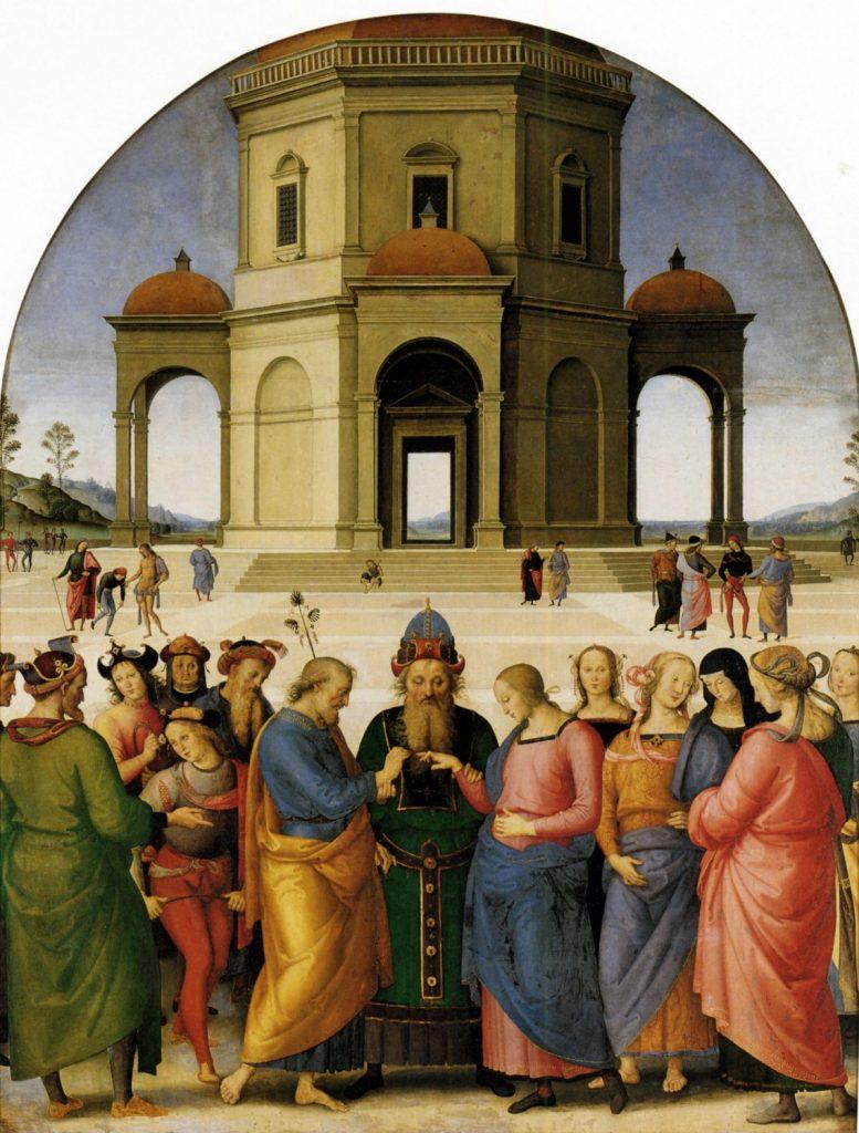 聖母の結婚》ペルジーノ|MUSEY[...