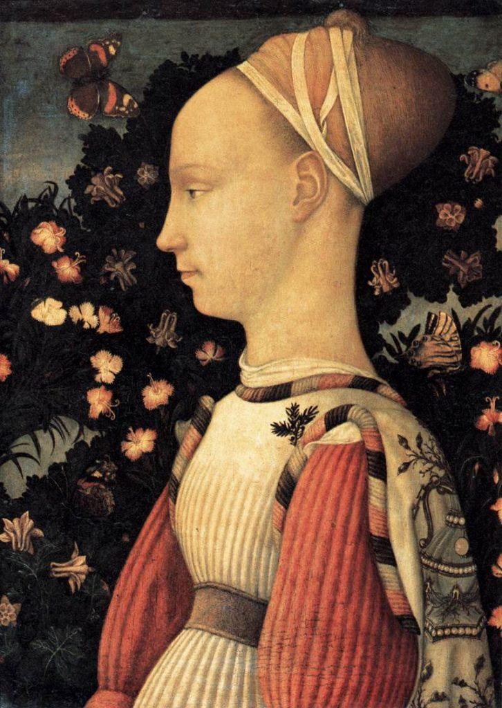 「ピサネロのエステ家の公女」の画像検索結果