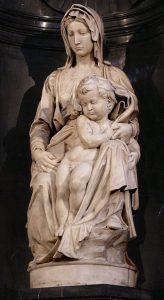 ブルージュの聖母子像