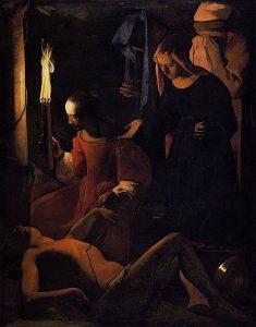 イレネに介抱される聖セバスティアヌス