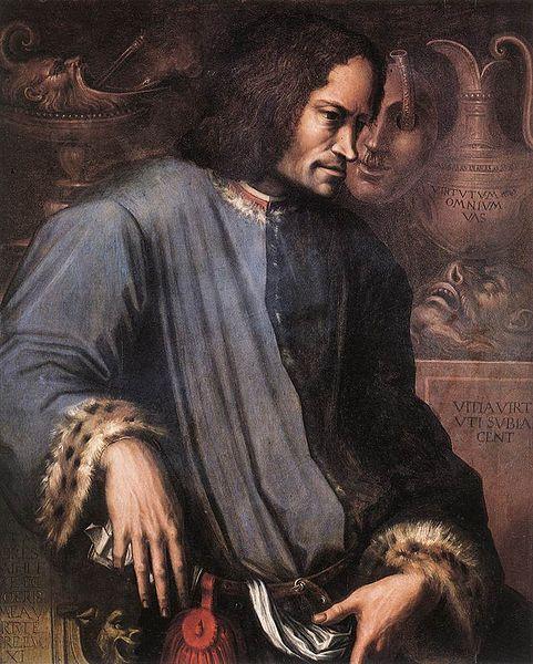 ロレンツォ・デ・メディチの肖像