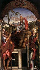 トゥールーズの聖人クリストファー、ジェロームとルイス