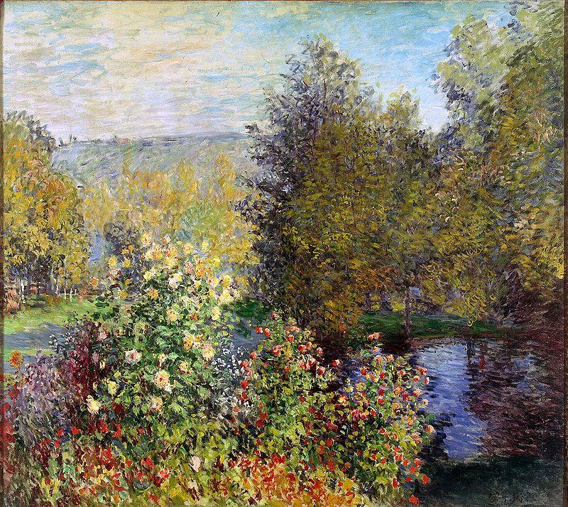 モンジュロンの庭の片隅
