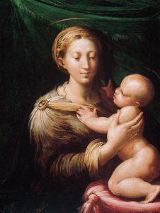 マドンナとその子供