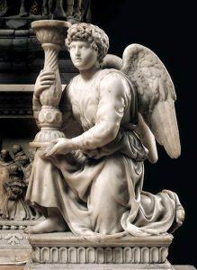 燭台を持つ天使(聖ドミニコの石棺 )