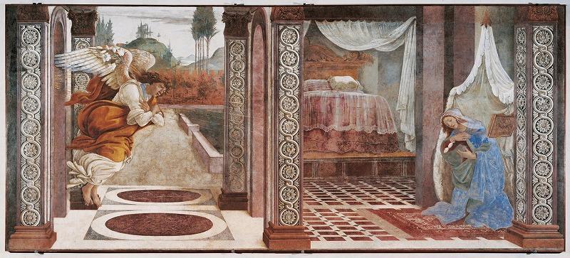 サン・マルティーノ・デッラ・スカーラの受胎告知