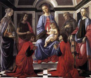 サンタンブロージオの祭壇画