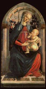 バラ園の聖母