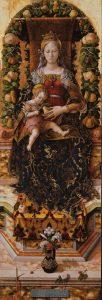 蝋燭の聖母マリア(聖母子)