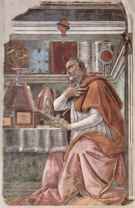 書斎の聖アウグスティヌス