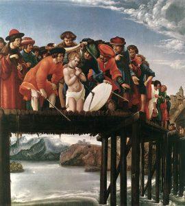 聖フロリアヌスの殉教