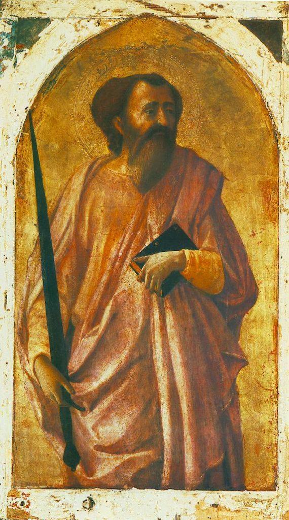 聖パウロの肖像画